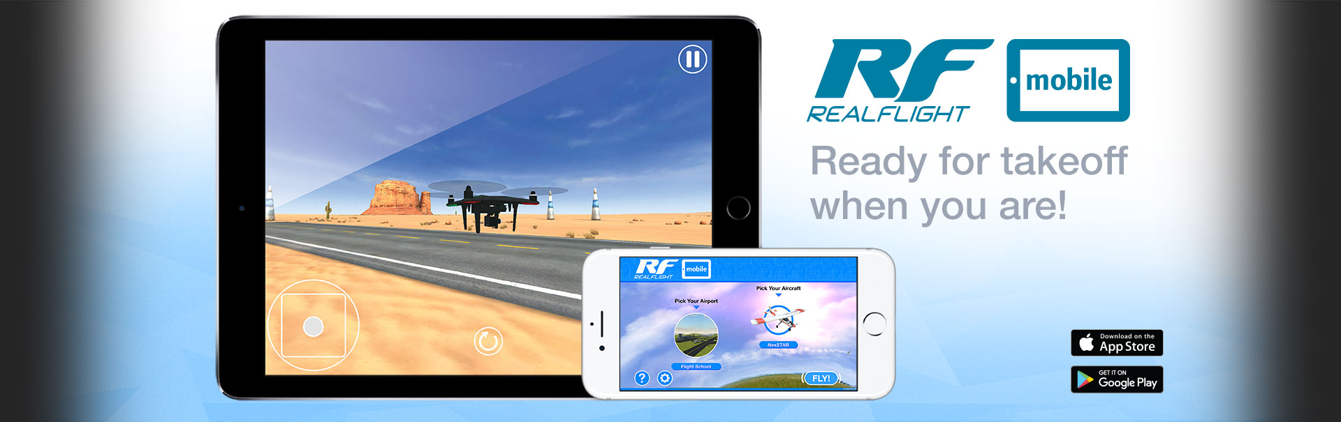 RealFlight Mobile: Ready for takeoff when you are!